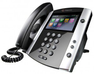 polycom hosted voip