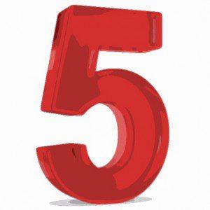 five telecom terms