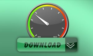 Slow download speed - make sure you don't have a slow internet connection